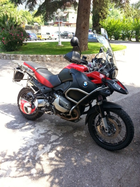 My GS ADV in Italy :-)