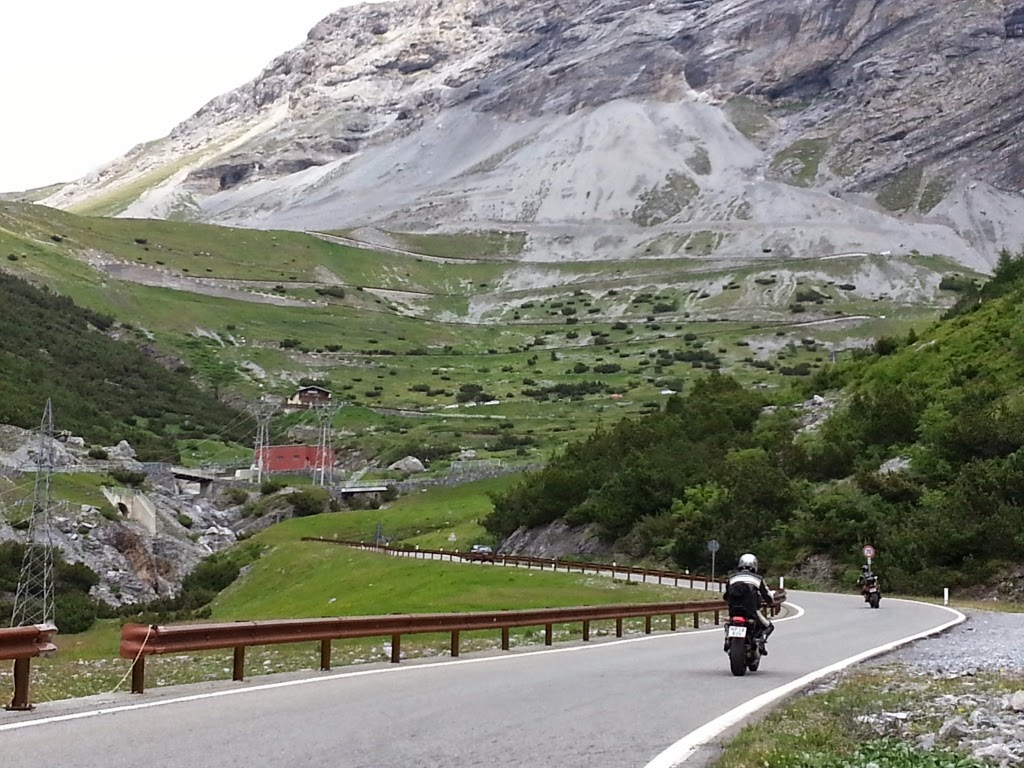 Up towards Passo Stelvio