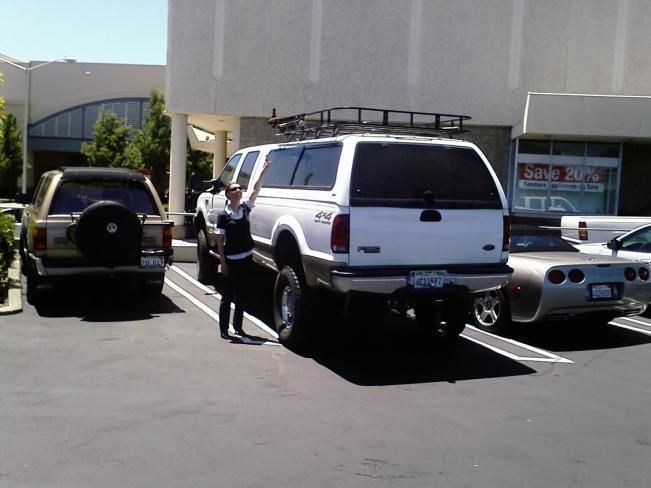 Big Ass Truck in California   ( #WhyAskWhy www.WhyAskWhy.net )