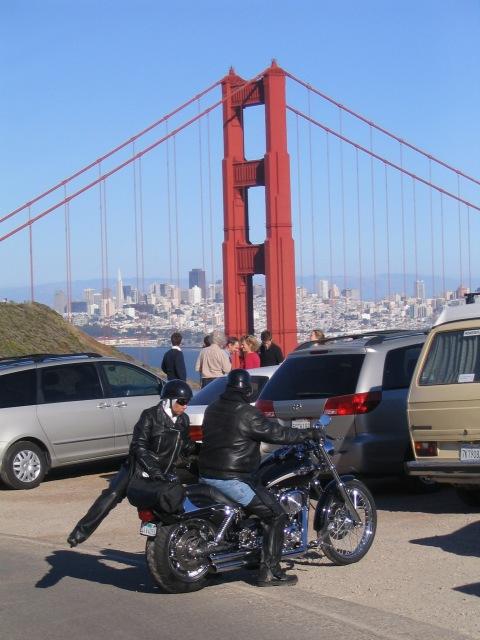 Golden Gate, Harley   ( #WhyAskWhy www.WhyAskWhy.net )